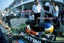 Carlos Reutemann Martini Lotus 79 italiano Grand Prix 1979 fotografía 1
