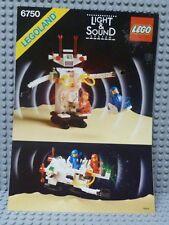 LEGO® Space Classic Bauanleitung 6750 Sonic Robot BA ungelocht