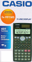 Casio fx-991ms Scientific Calculator 260 functions fx 991 ms fx991ms Free Ship