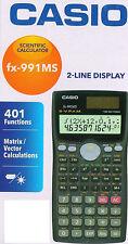 Casio fx-991ms Scientific Calculator 260 functions fx 991 ms fx991ms Free Ship