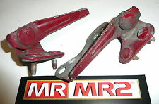 Toyota MR2 MK2 Turbo Engine Lid Cover Hinges Red 3E5  - Mr MR2 Used Parts