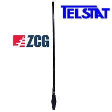 ZCG SGL1100-BLKR All Black AM/FM Radio Receive Heavy Duty Antenna