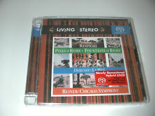 NEW RCA LIVING STEREO SACD DEBUSSY & RESPIGHI FOUNTAINS & PINES OF ROME - REINER