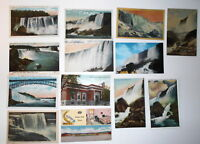 LOT OF 19  NIAGARA FALLS  NY NEW YORK ANTIQUE  POSTCARDS