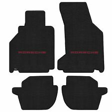 911 996 Cabriolet 2002-2005 4Pc Car Floor Mats Carpet Black Ultimat Porsche Logo