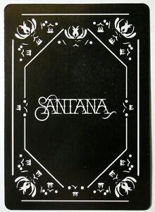 Santana Single Swap Playing Card - 1 card