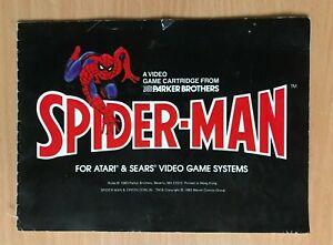 ATARI 2600 - SPIDER-MAN - Instruction Manual
