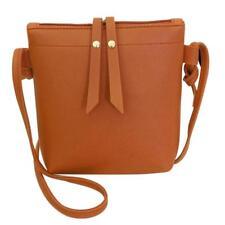 Women's Shoulder Bag Messenger PU Leather Tassel Handbag Crossbody Purse Satchel