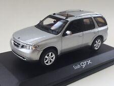 Norev Saab 9-7X Silver 1/43 Dealer Promo. Rare Colour.