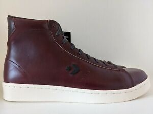 Converse Horween Pro Leather Hi Tobacco Ganache Brown Egret Size 10 168750C