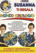 X0154 Formaggini Invernizzi Susanna - Pubblicità 1992 - Vintage Advertising