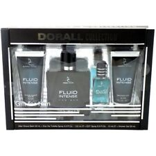 FLUID INTENSE FOR by DORALL COLLECTION EDT set for men great Father's Day gift