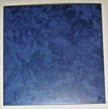 1 Villeroy Boch Germany Porcelain Ceramic Floor Tile Satin Marbled Dark Blue
