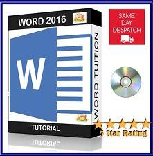Microsoft Word 2016 For Windows– Professional Video Training ✅ Tutorial
