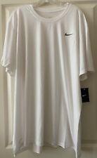 NIKE >NEW< Men's White Polyester T-Shirt (SA799)(size 3XL)