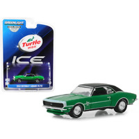 1968 Chevy Camaro RS SS Turtle Wax Ice HOBBY GREENLIGHT DIECAST 1:64
