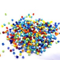 Glass CUBE TOHO Beads 3mm Craft Jewellery Made in Japan X100