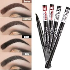 Cosmetic Waterproof Drawing Eye Brow Eyeliner Eyebrow Pen Pencil Brush Makeup