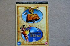 MONTY PYTHON`S LIFE OF BRIAN / HOLY GRAIL NEW SEALED GENUINE UK DVD TWIN SET