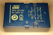 Relais Nr333  SDS NAIS  SF4-DC12V 4Arb.u4Ruhekont.