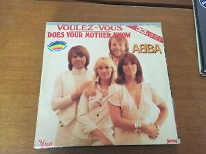 """33 tours ABBA """" Boys and girls let's go disco"""""""