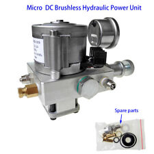 DC 12V Electric Hydraulic Pump Power Pack Unit 10MPa Single Acting Oil Pump Kits