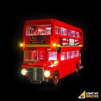 LIGHT MY BRICKS - LED Light kit for LEGO London Bus 10258 Lego Light Kit