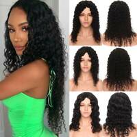 Curly Wavy Full Wigs Peruvian Remy Human Hair Wig None Lace Wigs For Women Lr128