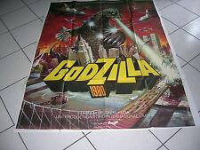 "AFFICHE CINEMA ORIGINALE 120x160 *GODZILLA 1980""JUN FUKUDA Tatsuko EASAKI"