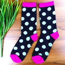 5Pair Socks Men's Casual Dress Socks Polka Dots Multi-Color Socks 19*20cm DWZ136