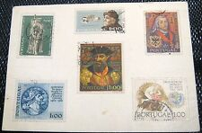 Other handmade postcard Portuguese stamps - posted from Greece