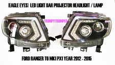 LED DRL PROJECTOR HEADLIGHT Head Lamp FORD RANGER T6 PX MK1 2012 - 2015 WILDTRAK