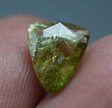 2.50 ct Transparent Axinite Green Touch RARE, Cut Gemstone @ Nangarhar