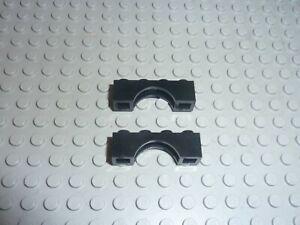 2 x Lego Black Brick Arch 1x4 ref 3659 / set 5986 6085 6285 6285 6066 6079 6097