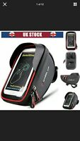"""Waterproof Bicycle Bike 6"""" Mount Phone Holder Case Bag Pouch Cover for Mobiles"""