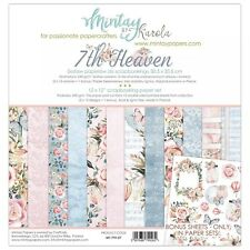 Mintay by Karola 12x12 Scrapbook Paper Collection Pack 7th HEAVEN MT-7th-07