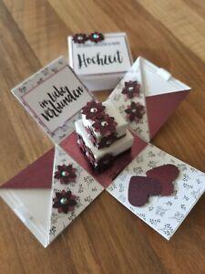 Mini - Explosionsbox Hochzeit