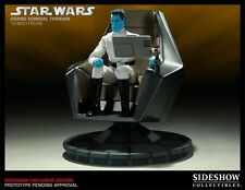 Star Wars 1/6 Scale Grand Admiral Thrawn with Command Chair Sideshow Figure