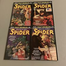 *The Spider* Lot of 4 Pulp Reprints Girasol Collectibles *Pulps*