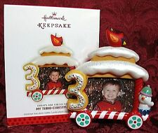 HALLMARK 2013 CHILD'S AGE COLLECTION~MY THIRD CHRISTMAS~PHOTO HOLDER