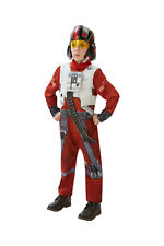 Star Wars Episode VII X-wing Fighter Pilot Deluxe Costume Size 6-8 7767