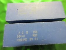 Polyester Metallized Film Capacitor, 2.2uf, 250v, PHILIPS 22236845225 **X2 PER**