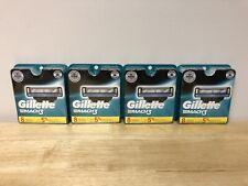 32 Brand New Gillette Mach 3 Razor Blade Refills Cartridges Sharp 12 Packs
