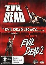 The Evil dead 1 & 2 Legacy *R Rated**Sam Raimi's**Excellent Condition