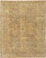 """Hand-Knotted Carpet 8'2"""" x 10'0"""" Traditional Oriental Wool Area Rug"""