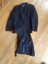 Vintage Black Tuxedo Dress Pants Wilhelm Schon Ships in 24 hrs!