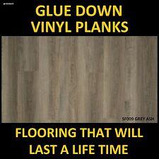 VINYL PLANK FLOORING TIMBER LOOK FLOOR GLUE DOWN FLOORS DIY DRY BACK TILE PLANKS