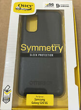 """NEW Otterbox Symmetry Series Case ONLY for Samsung Galaxy S20 5G (6.2"""") - Black"""