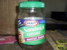 Kraft Glass Sandwich Spread Jar with Lid