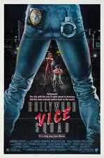 Hollywood Vice Squad Poster 01 A2 Box Toile imprimer